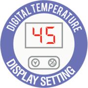 tankless digital temp