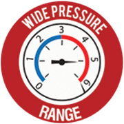 tankless wide pressure