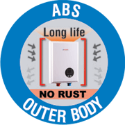 tankless abs outer