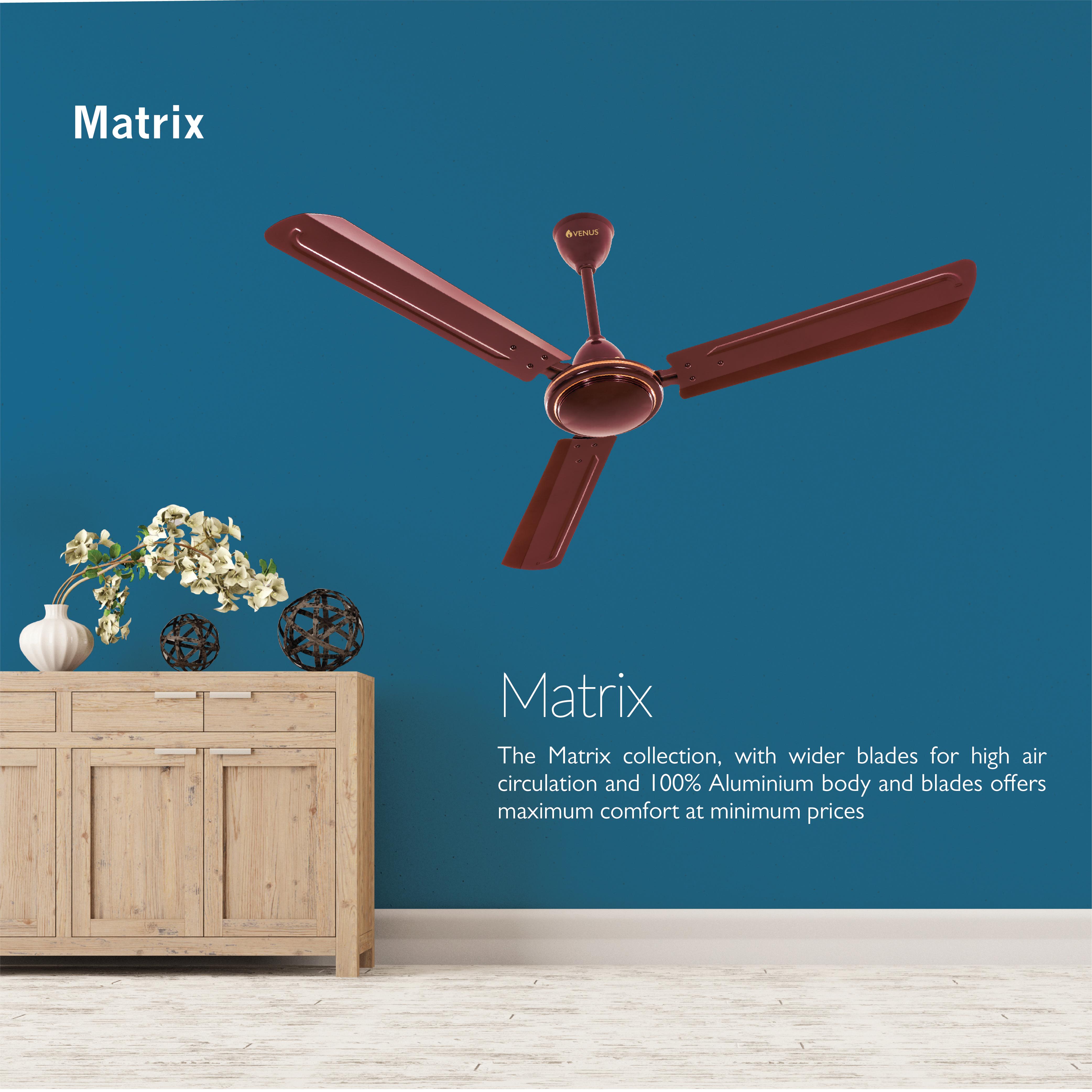 Performance Series - Matrix Ceiling Fans - 1200mm