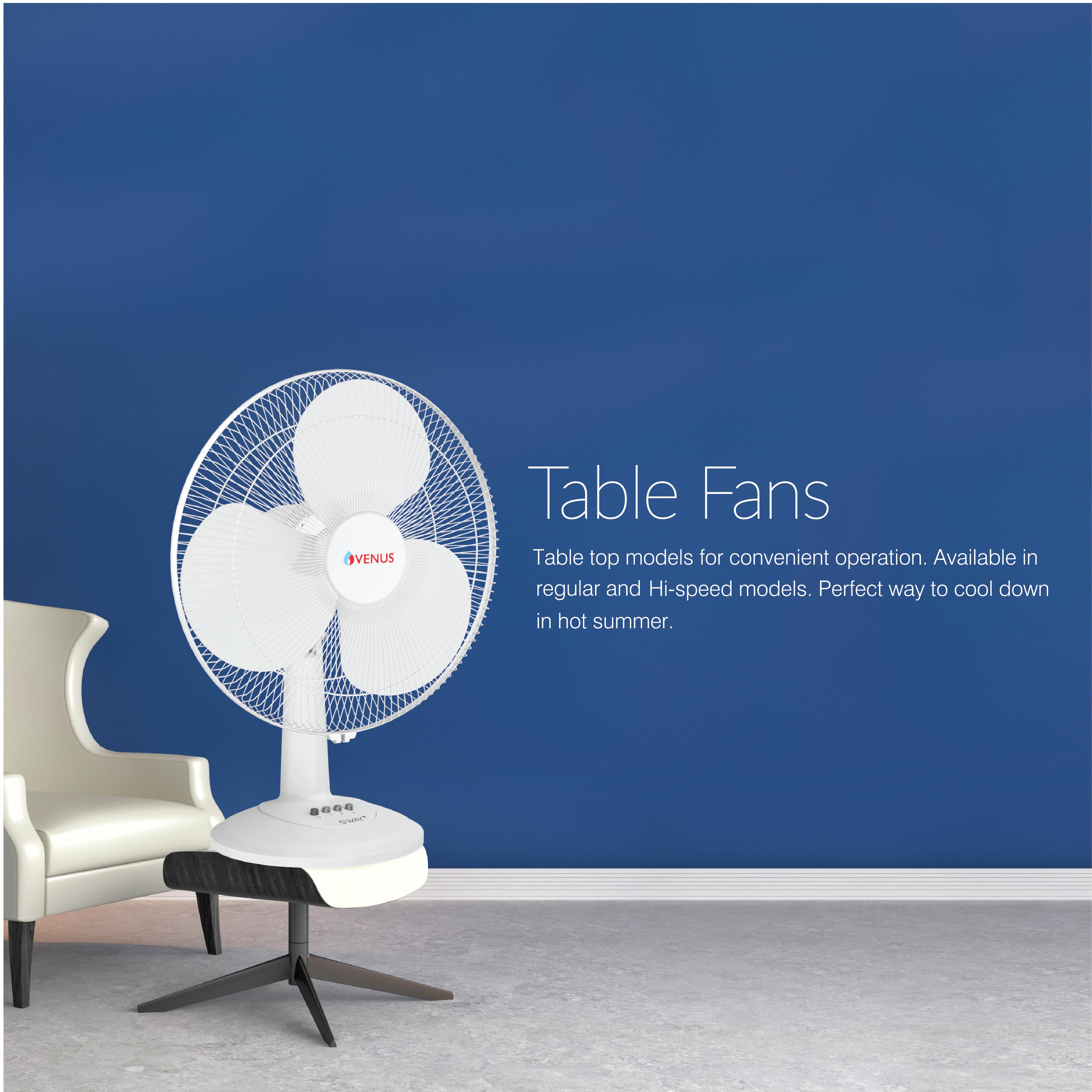 Sway Plus Table Fan