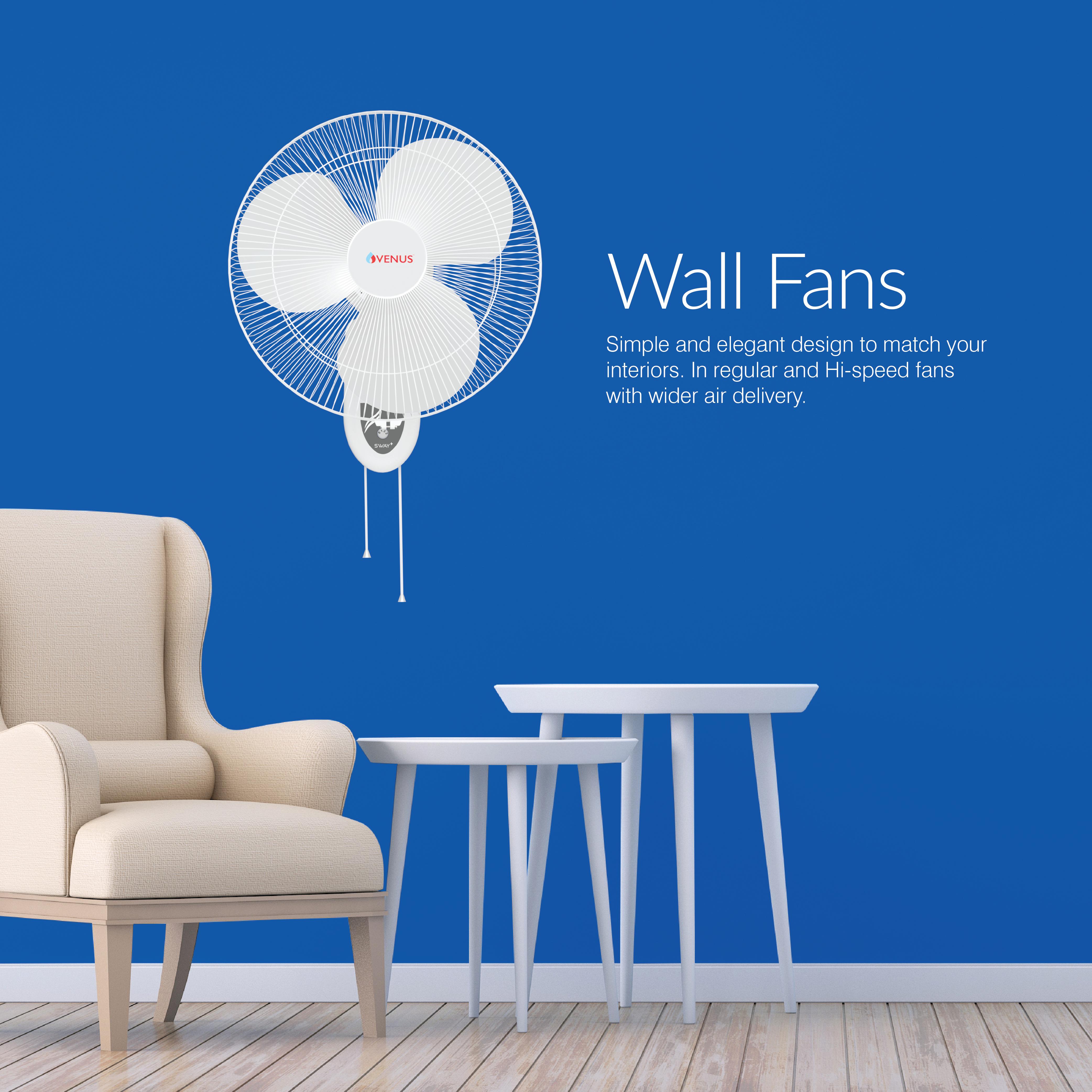 Sway Plus Wall Fan - 400MM