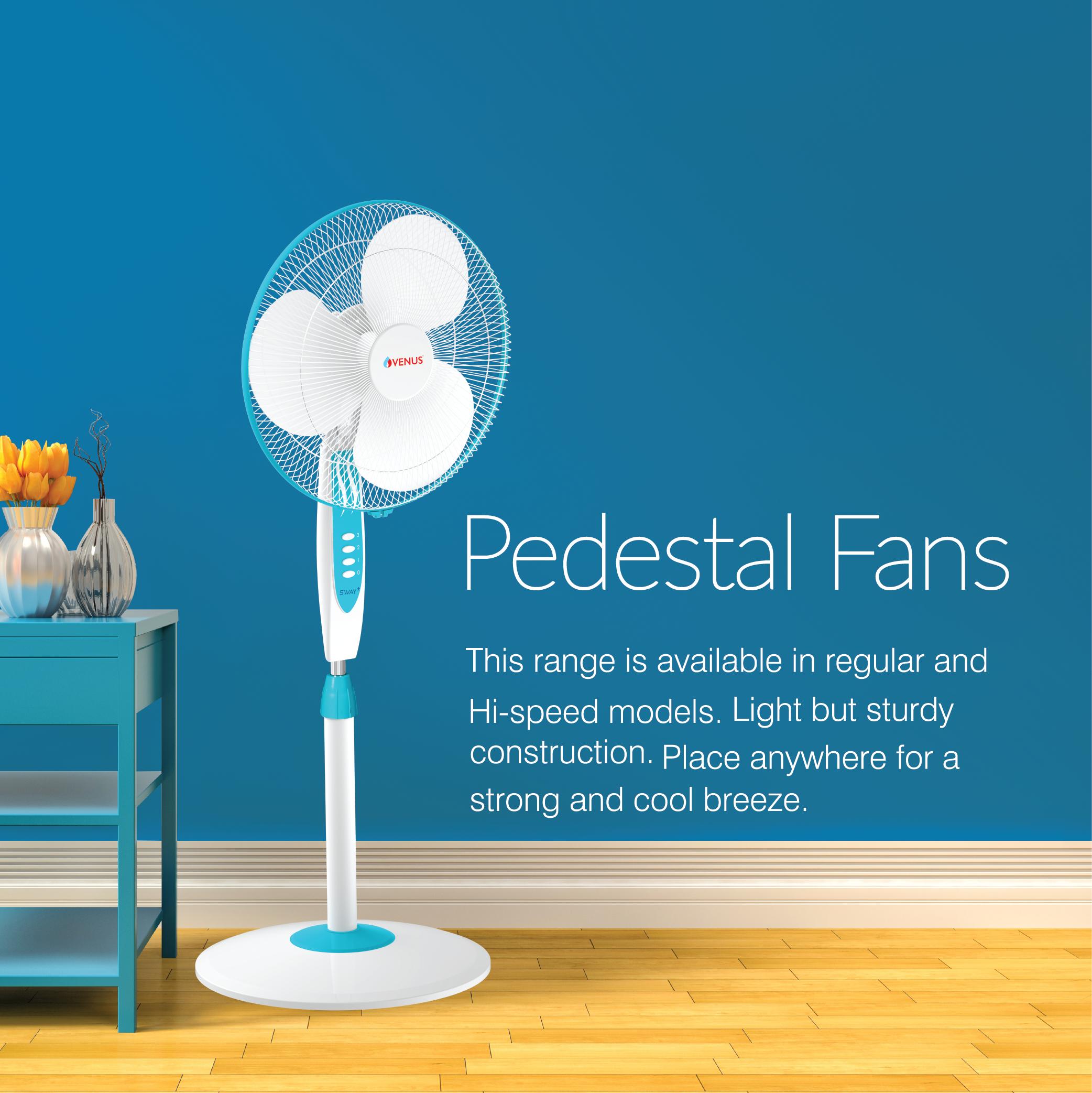 Sway Plus Pedestal Fan - SPF - 400