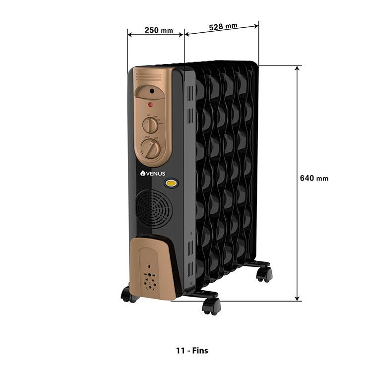 Oil-filled-radiators